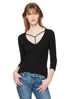 Guess Women's 3/4 Sleeve Samara Top  S