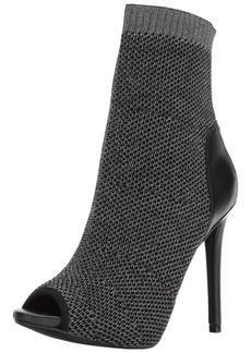 GUESS Women's  Abri Peep Toe Dress  Booties  - 9.5 B(M) US