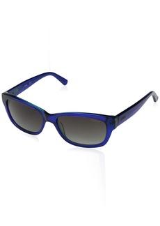 GUESS Women's Acetate Rectangle Rectangular Sunglasses 90X 54 mm