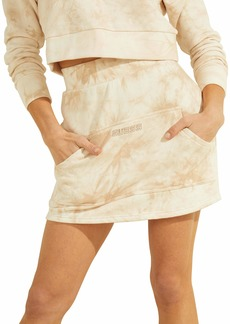 GUESS Women's Active Marble Mini Skirt