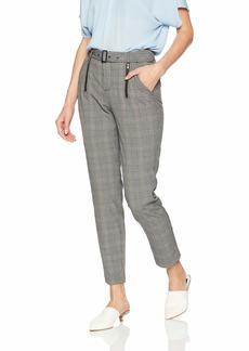 Guess Women's Alexa Plaid Trousers  6
