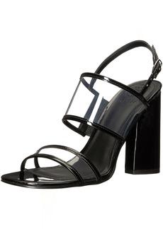 GUESS Women's Amidala Heeled Sandal  6 Medium US