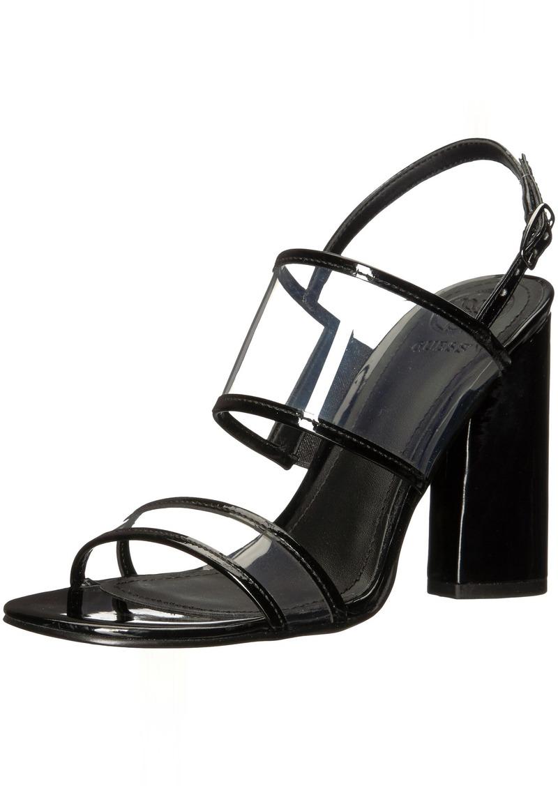 538e693fc58 GUESS GUESS Women s Amidala Heeled Sandal 6 Medium US