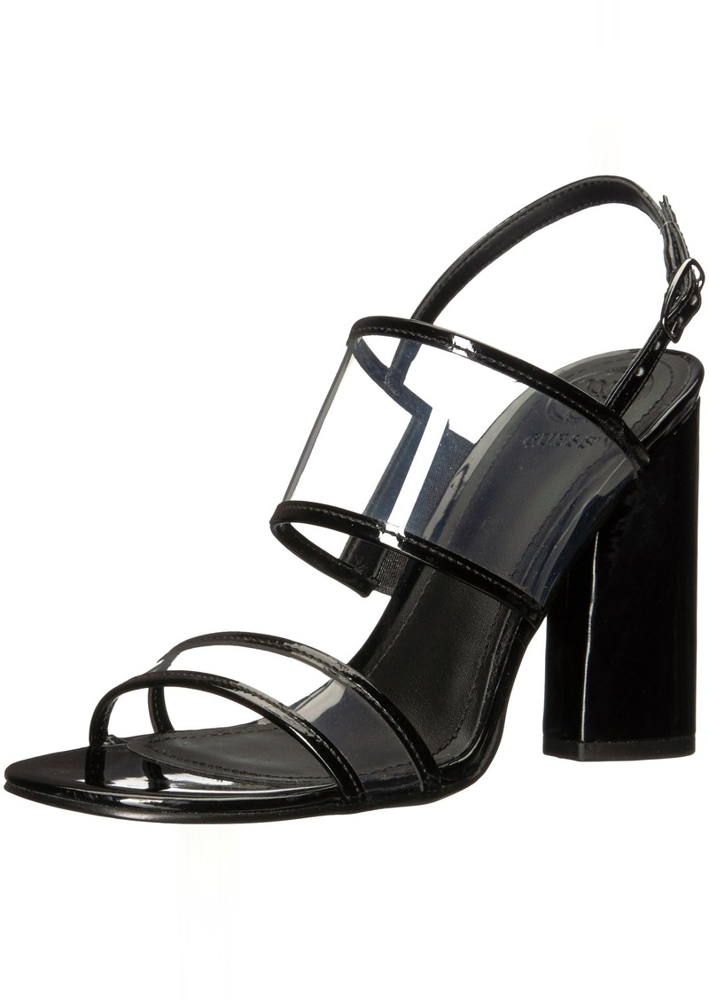 Guess Women's Amidala Heeled Sandal   Medium US