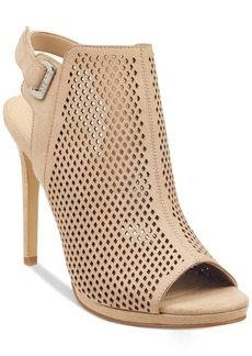 Guess Women's Aubria Perforated Dress Sandals Women's Shoes