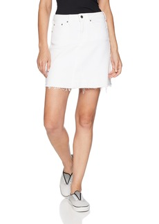 Guess Women's Authentic Cowgirl Skirt Skirt -optic white L