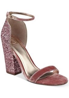 Guess Women's BamBam Block-Heel Dress Sandals Women's Shoes