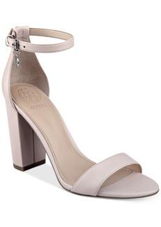 Guess Women's Bamboo Two-Piece Block-Heel Sandals Women's Shoes