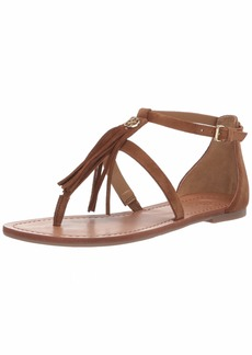 259025500eaf8 GUESS Women's BAMIE Flat Sandal M US