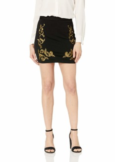 GUESS Women's Bianca Embroidered Skirt  M