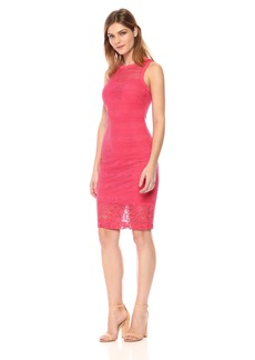 GUESS Women's Border Lace Dress
