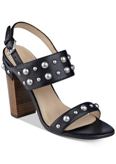 Guess Women's Cheree Studded City Sandals Women's Shoes
