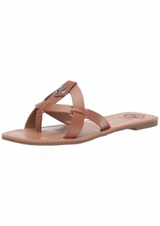 GUESS Women's Chole Flat Sandal   M US