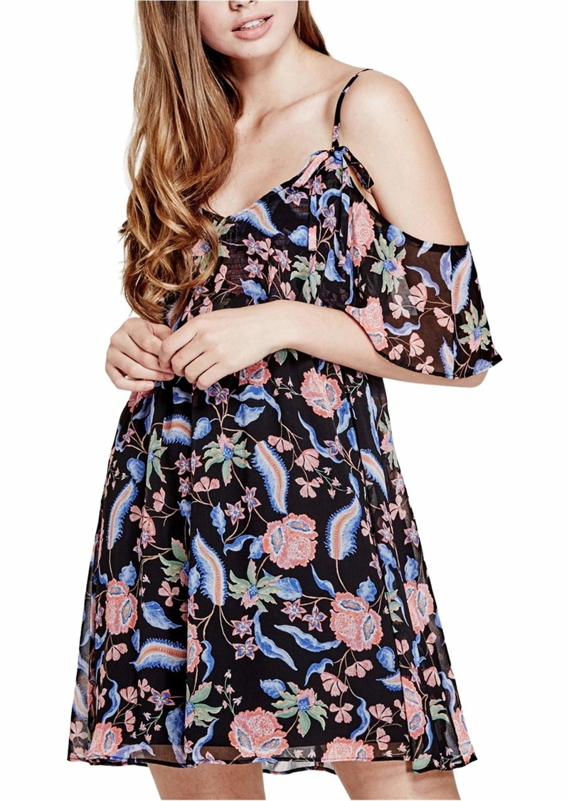 GUESS Women's Cold Shoulder Jazmin Dress  S