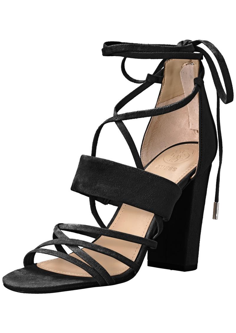 Guess Women's Conesa Heeled Sandal   Medium US
