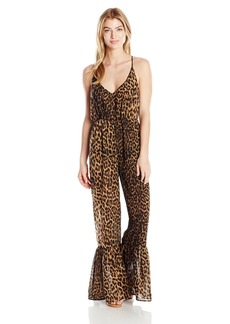 Guess Women's Animalier Cover up Jumpsuit  S