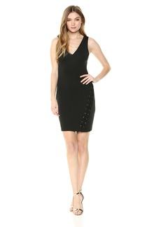 GUESS Women's  Crepe Scuba Dress