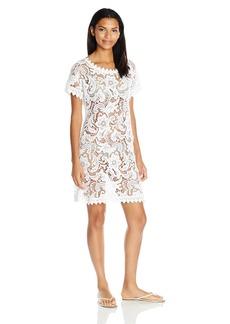 Guess Women's Crochet Cover up Dress  M