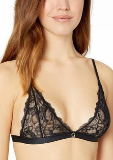 GUESS Women's Cutout Lace Triangle Bralette