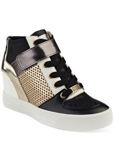 Guess Women's Diza Lace-Up Sneakers Women's Shoes