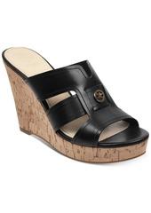 Guess Women's Eadra Wedge Slide Sandals Women's Shoes