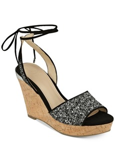Guess Women's Edinna Wedge Sandals Women's Shoes