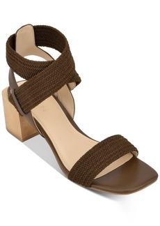 Guess Women's Ellete Bondle Block-Heel Sandals Women's Shoes