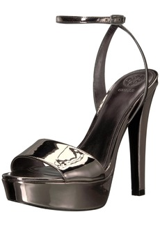 GUESS Women's Empress Heeled Sandal   M US