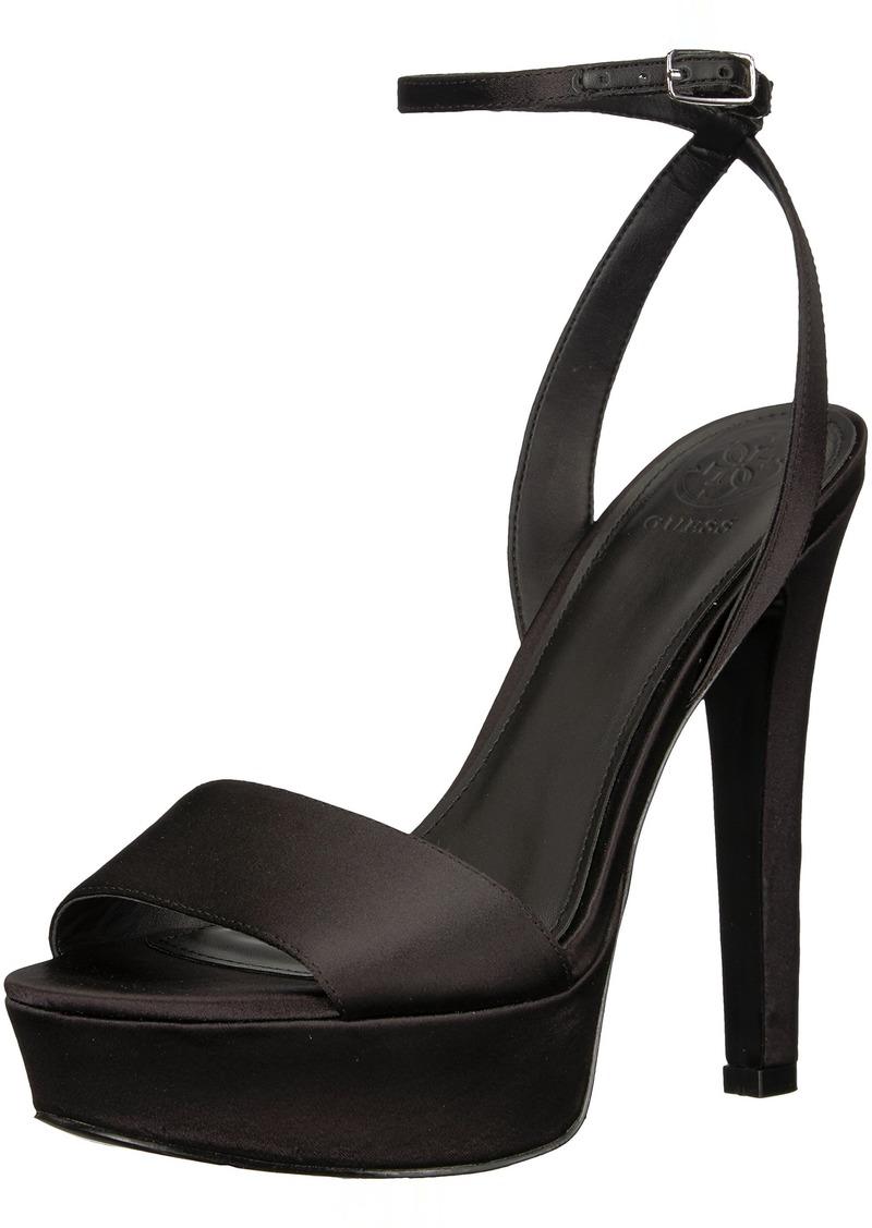 GUESS Women's EMPRESS2 Heeled Sandal   M US