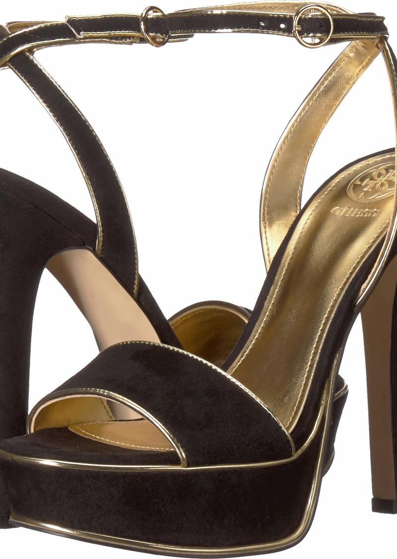 Guess Women's EMPRESY2 Heeled Sandal   M US