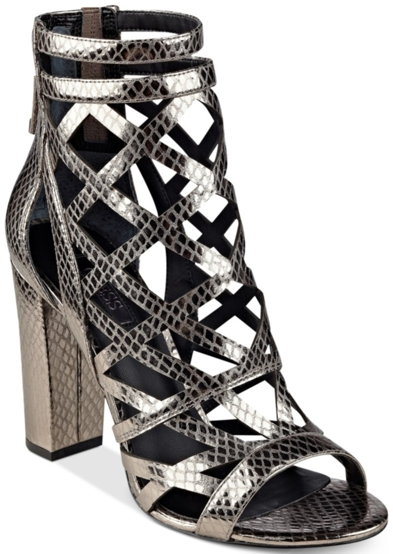 d0077555013 GUESS Guess Women s Eriel Cage Sandals Women s Shoes