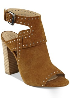 Guess Women's Erika Block-Heel Sandals Women's Shoes