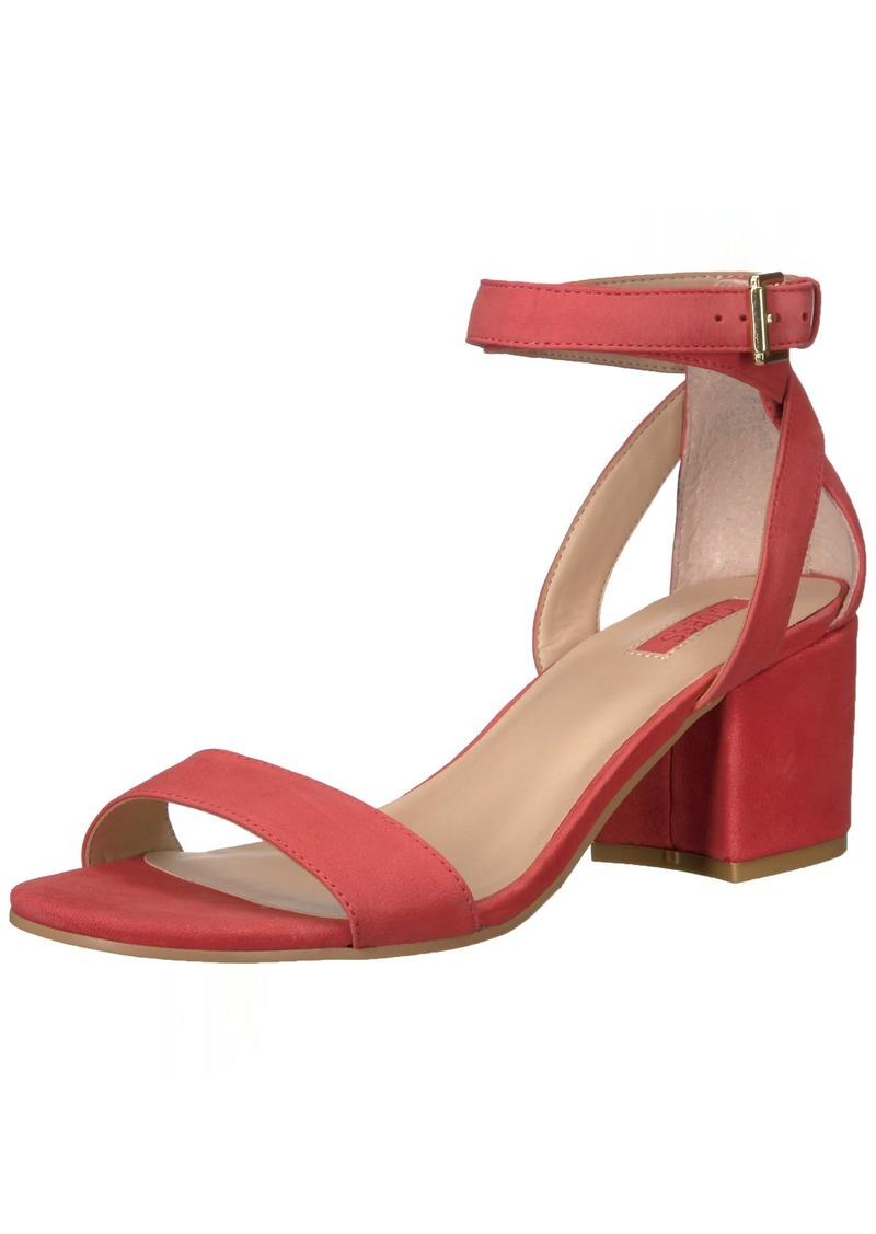 GUESS Women's Eva Heeled Sandal   Medium US