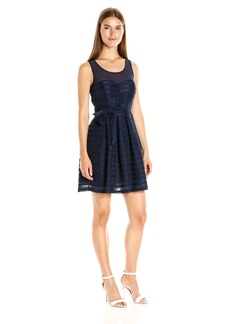GUESS Women's Fit and Flare Dress