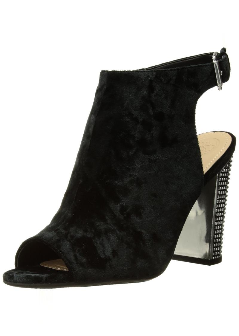 GUESS Women's Geogia2 Heeled Sandal   Medium US