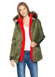 GUESS Women's Gisella Detachable Jacket