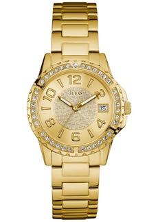 Guess Women's Gold-Tone Stainless Steel Bracelet Watch 36mm U0779L2