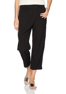 GUESS Women's Grant Pleated Trouser