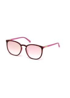 GUESS Women's Gu3020 Wayfarer Sunglasses  56 mm