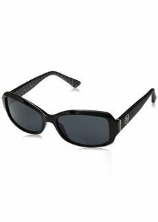 GUESS Women's Gu7410 Rectangular Sunglasses
