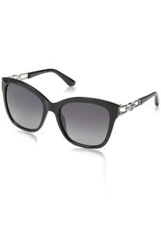 GUESS Women's Gu7536-s Cateye Sunglasses  55 mm