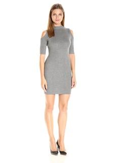 GUESS Women's Half Sleeve Allison Cold Shoulder DRS  XL