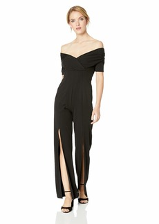 GUESS Women's Half Sleeve Juda Jumpsuit  XS