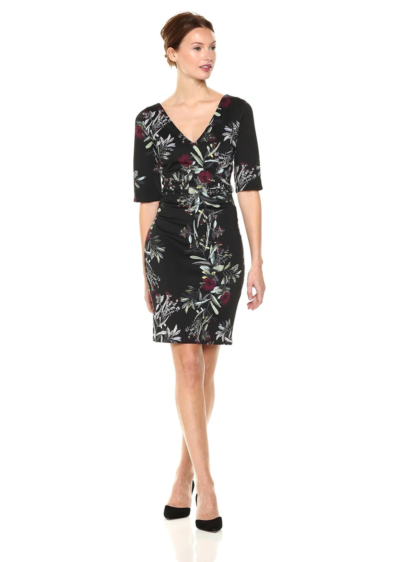 GUESS Women's Half Sleeve Natasha Dress  L