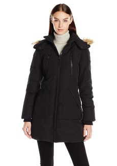 GUESS Women's Heavy Polyfill Parka black XL