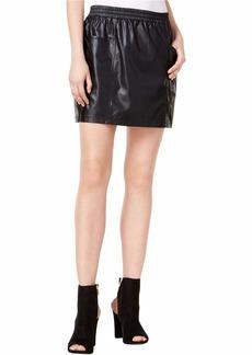 GUESS Women's Hemingway Pu Skirt  a M
