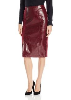 Guess Women's High Waist Candra Midi Skirt  M
