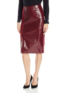 Guess Women's High Waist Candra Midi Skirt  XL
