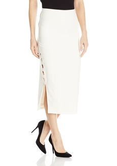 Guess Women's High Waisted Yoshi Caged Midi Skirt  S R