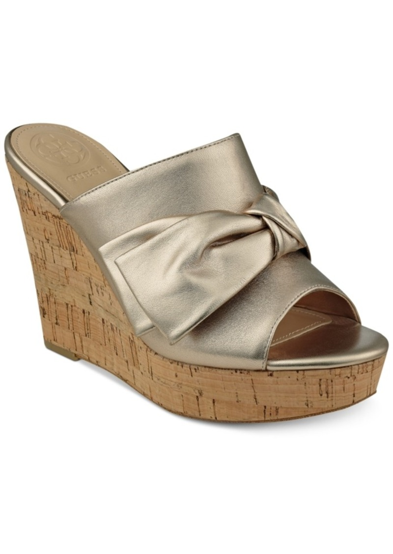 a655c1644b On Sale today! GUESS Guess Women's Hotlove Platform Wedges Women's Shoes